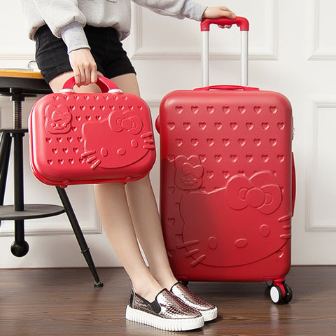 Wholesale!Password Box Trolley Luggage Picture Box Universal Wheels Travel Bag 14 28 Luggage