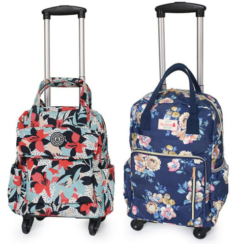 Women Business Travel Trolley Bags Travel Backpacks With Wheels Luggage Trolley Backpack Mochila