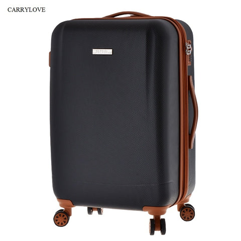 Carrylove High Quality For Long Trips 20/24/28 Inch Size Pc+Abs Rolling Luggage Spinner Brand