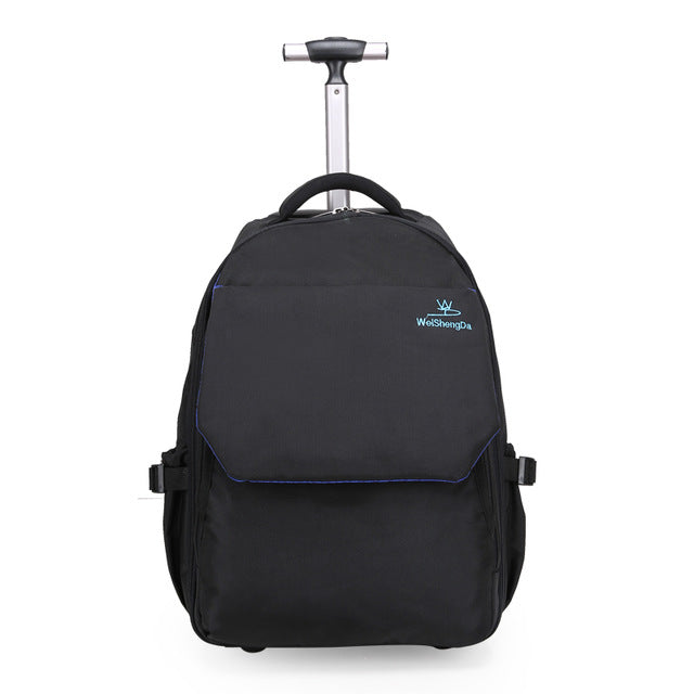 Large Capacity Travel Trolley Backpack Luggage Wheeled Carry-On Bags High Quality Waterproof