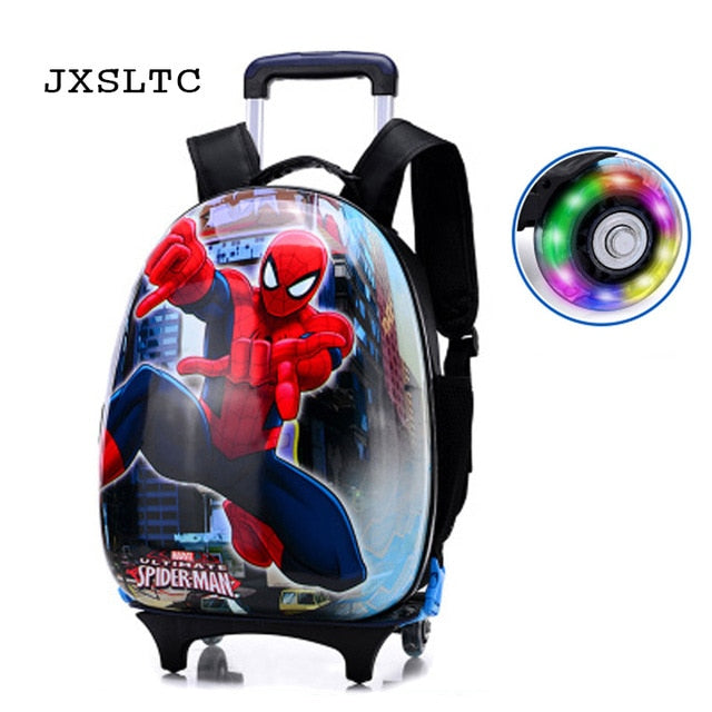 New Cartoon Kids Abs Rolling Luggage Trolley Case Children Luggages Spinner Suitcase Carry Ons