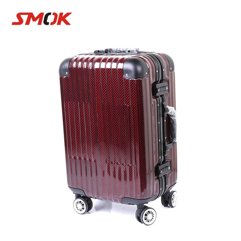 Smok Motorcycle Carbon Fiber Trolley Case Travel Luggage Rolls Suitcase For Yamaha Mt09 Mt 09 Mt-09