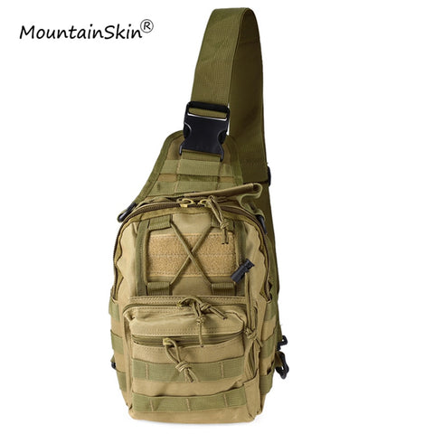 Mountainskin Hot Sale Men Women Flap Pocket Military Tactical Backpack Unisex Fashion Camouflage