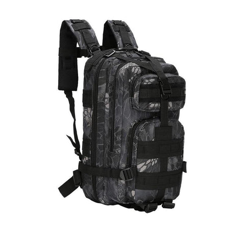 Outdoor Military Army Tactical Backpack Soft Camping Hike Trekking Camouflage Bag