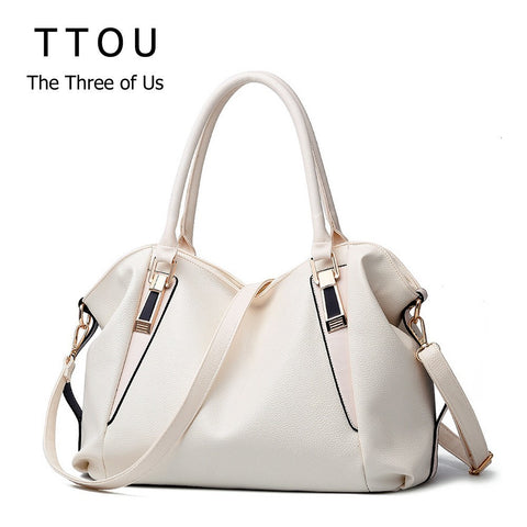 507f43a872eb TTOU Designer Women Handbag Female PU Leather Bags Handbags Ladies Portable Shoulder  Bag Office Ladies Hobos