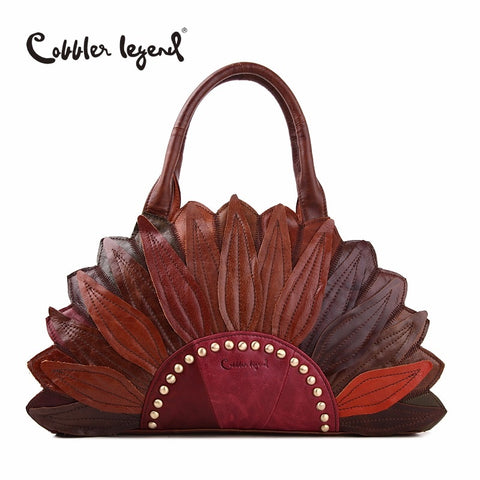 Cobbler Legend 2018 New Women'S Handbags Shoulder Genuine Leather Bag Superior Cowhide Leather