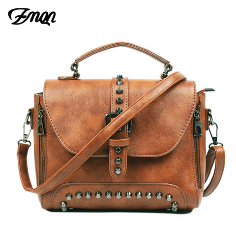 Zmqn Crossbody Bags For Women Messenger Bags 2018 Vintage Leather Bags Handbags Women Famous