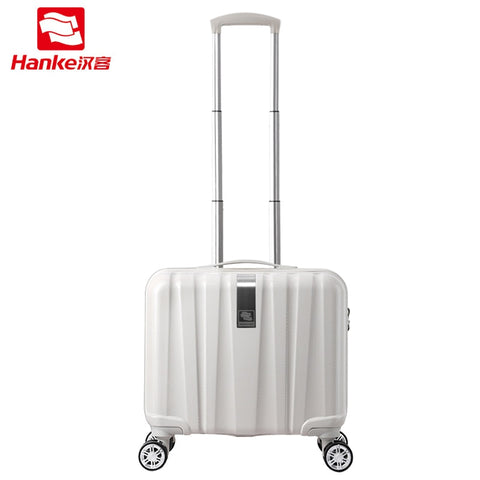 Hanke 16''-24'' Hardside Rolling Luggage Bag Women Spinner Trolley Suitcase Men Carry-Ons Female