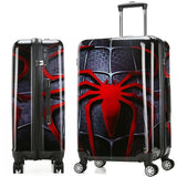 "Luggage Bag 20"" 24"" Travel Suit Case Carry On Vintage Trolley For Women Men Spinner Wheel Travel"