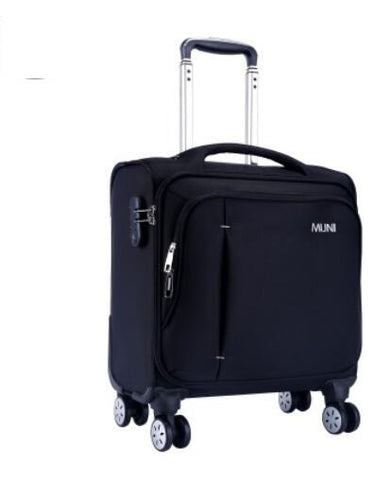 Oxford Suitcase Cabin Boarding Case Spinner Suitcase Men Travel Rolling Luggage Bag On Wheels