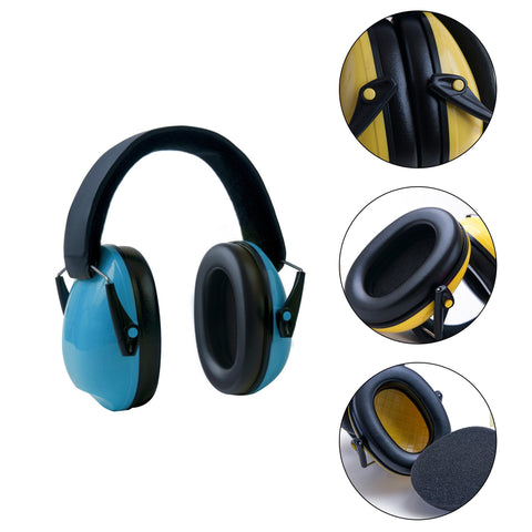 Kids Hearing Protection Earmuffs, Noise Cancelling Headphones For Toddlers And Babies - With Travel