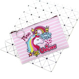Cartoon Unicorn Coin Purses Women Mini Wallets Cute Card Holder Ladies Key Money Bags For Girls