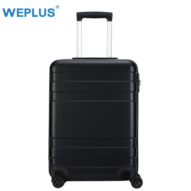 Weplus Rolling Suitcase Business Luggage Hardside Travel Suitcase With Wheels Carry On Luggage