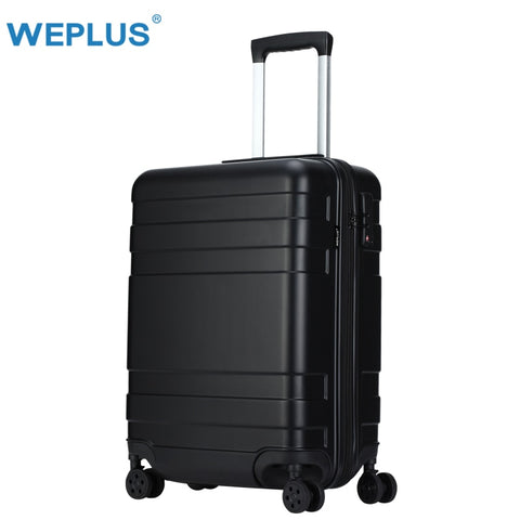 Weplus Suitcase Business Rolling Luggage Colorful Travel Suitcase Carry On Spinner Wheels Tsa