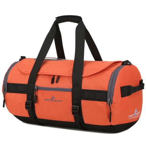 Portable Large Sports Gym Bag Holiday Travel Tote Duffel Bag Handbag Shoulder Bag For Men And Women