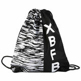 Drawstring Bag Backpack Fitness Bag Unisex Sports Bag Bundle Pocket Beach Bag