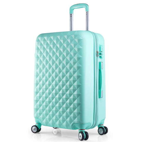 Hot 20 22 24 28 Inches Abs Girl Students Spinner Trolley Case Child Travel Business Luggage