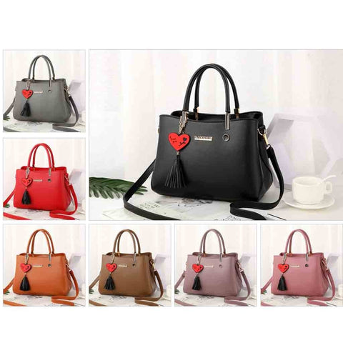 Fashion Women Bag Leather Tassel Handbags Shoulder Bag Small Flap Messenger Bags