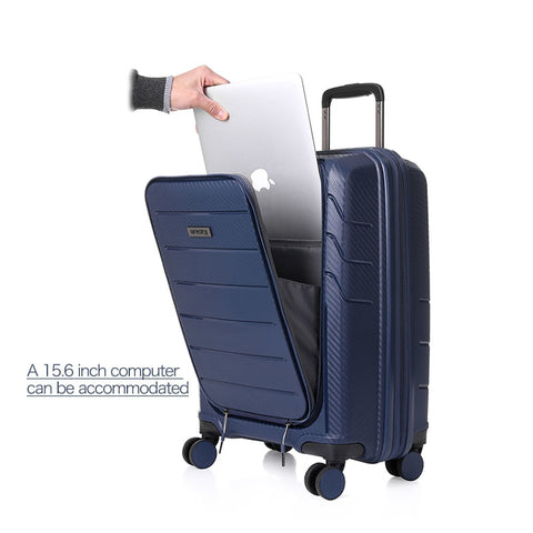 2018 NEW travel high quality luggage business PVC material suitcase rolling spinner wheels luggage 4 four colors free shipping