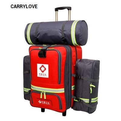 Carrylove Medical Luggage Series 20Inch Wear-Resisting Enquiring, Check Box, Waterproof Luggage