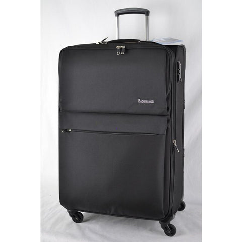 "Hotsale!30"" 32"" 34"" Super Large Capacity Nylon Trolley Luggage Aircraft Wheel For Going Abroad"