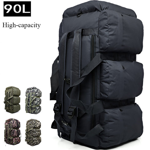 2018 Brand Infeylay Large Capacity 90L Mountaineering Bag Waterproof Casual Men Backpack Travel