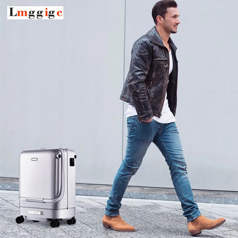 Intelligent Automatic Follow Luggage Bag,Cabin Electric Travel Suitcase,Auto-Following