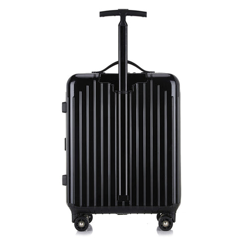 2018 High-End Business Ultra-Light Suitcase Single Pole Caster Trolley Case For Men And Women