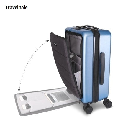"Travel Tale Fashion And Senior Business Pc 18""/20""Rolling Luggage Spinner Brand Travel Suitcase"