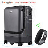 Auto-Following Luggage,Intelligent Electric Suitcase Bag,Automatic Walking Pc Cabin Travel