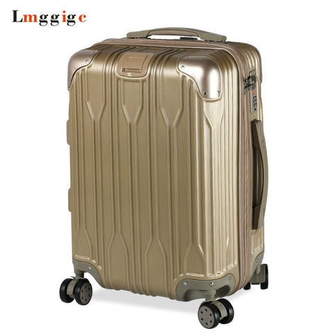 Spinner Rolling Luggage Travel Suitcase Bag,Nniversal Wheel Trolley Case,Zipper Pc+Abs Carry-On,New