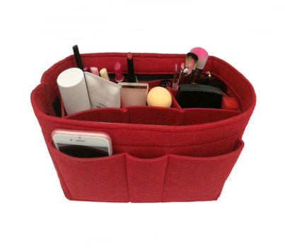 Felt Cosmetic Bag Fashion Simple Felt Multi-Function Bag In The Package Cosmetic Storage Bag