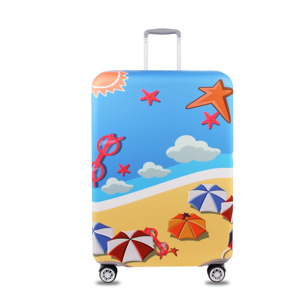Spandex Travel Luggage Cover Suitcase Protector Bag Travel Luggage Cover Fit For 18-28 Inch Luggage