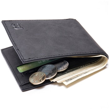 2019 Fashion Men Wallets Small Wallet Men Money Purse Coin Bag Zipper Short Male Wallet Card Holder