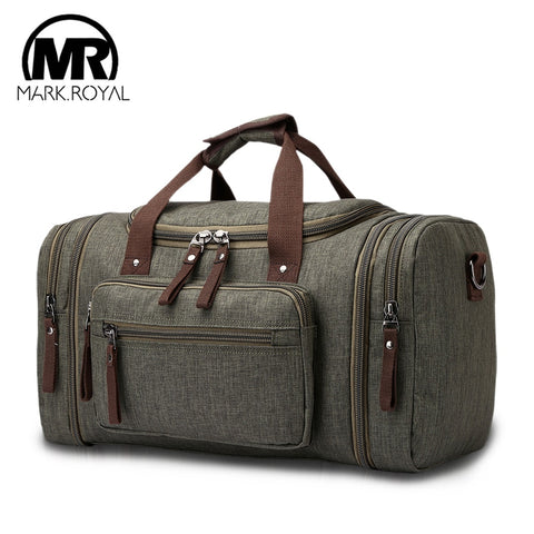 Markroyal Soft Waterproof Men Travel Bags Carry On Large Capacity Duffle Water-Repellent Bags