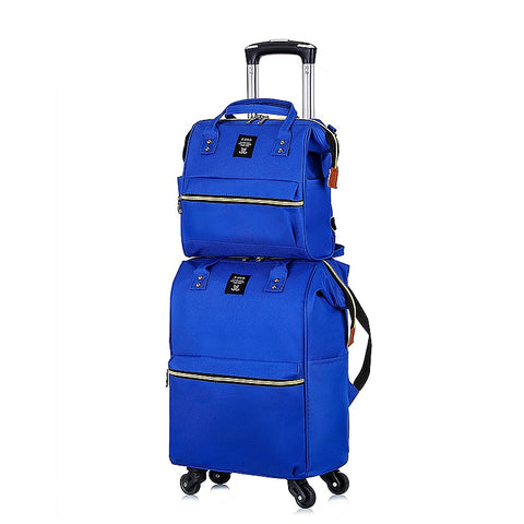 Handbag + Trolley Case 2 Piece Set,Universal Wheel Trolley Case,Fashion Luggage,Trip