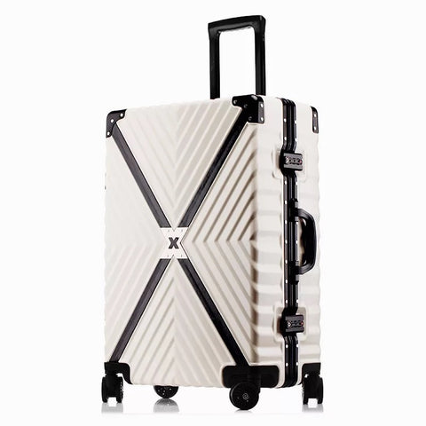 Fashion Rolling Suitcase,Portable Men And Women Zipper Luggage,Pc Quality Trolley Case,High-Grade