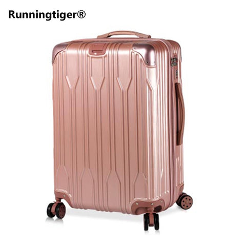 "Trolley Case Abs + Pc 20 ""24""Wheel Luggage Suitcase Lady Men'S Travel Suitcase Student Adult"