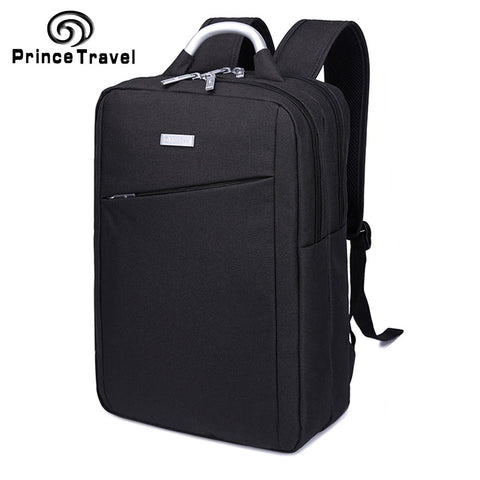 2019 Fashion Men Laptop Back Pack Waterproof Backpack Business Casual Schoolbag Student Computer