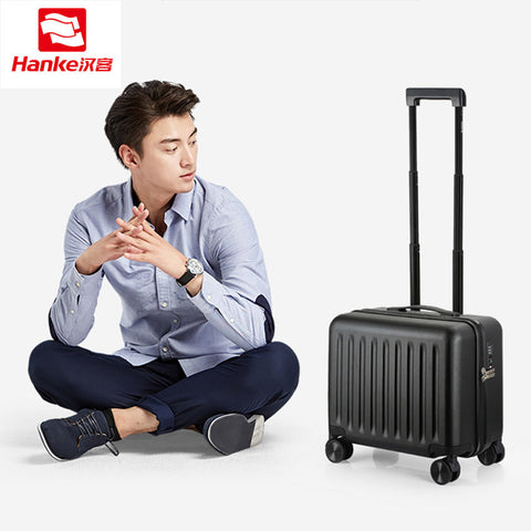 Hanke Tsa Lock Pc Rolling Luggage Travel Suitcases Women Spinner Trolley Carry Ons Luggages Men