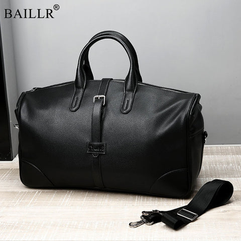 2019 New Fashion Pu Leather Men Casual Travel Bags Carry On Luggage Bags Men Duffel Bags Travel