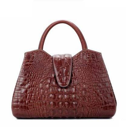 a2f2279e436 Tomubird 2019 New Women Genuine Leather Bag Brands Crocodile Embossed Luxury  Women Tote Bag Top