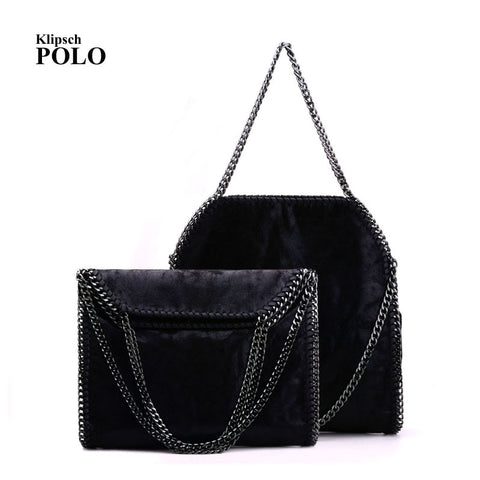 Women Crossbody Bags Falabellas Leather Shoulder Bag Stella 3 Silver Chains Bolso Socialite Tote