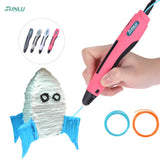 Sunlu Sl-400 Intelligent 3D Printing Pen Printer Drawing Usb Charging Including 1.75Mm Pla Filament