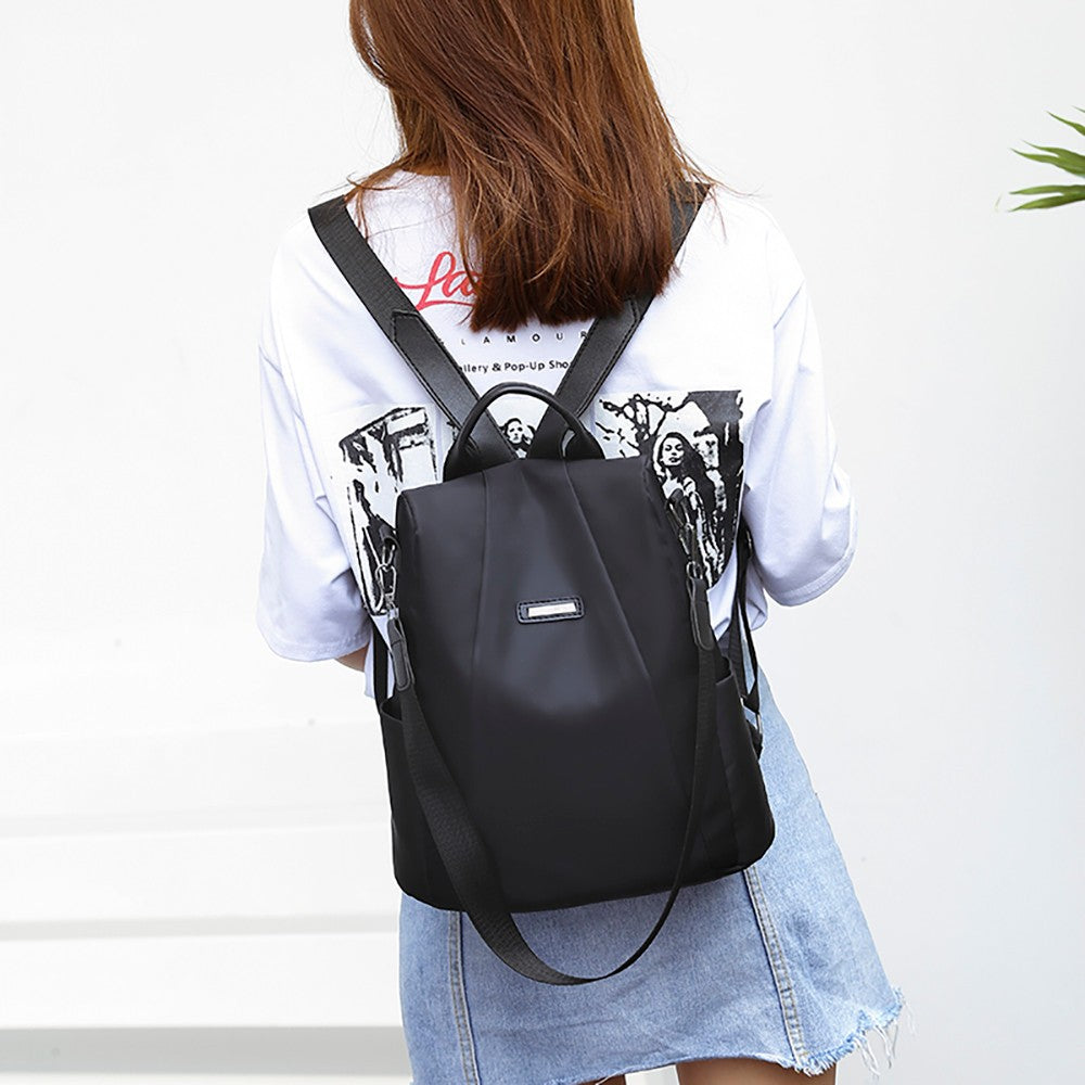 Women Travel Backpack Travel Bag Anti-Theft Oxford Cloth Backpack