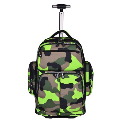 Fashion Backpack Waterproof Luggage 19 Inches Students Travel Multifunctional Suitcase Men Business