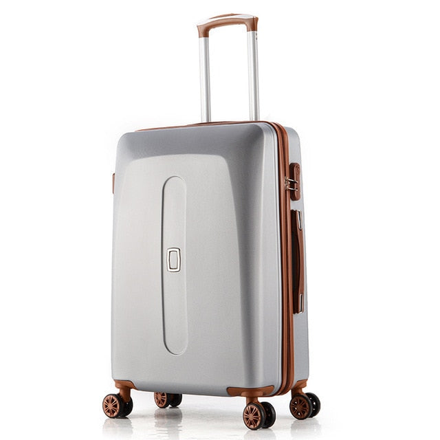 Cabin Luggage 20 Inch 24 Inch Rolling Luggage Case Spinner Case Trolley Suitcase Women Travel
