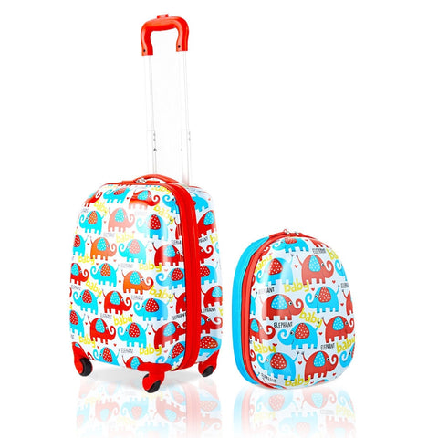 "2 Pcs 12"" And 16"" Kids Luggage Set"