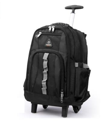 Travel Rolling Luggage Bag For Men  Travel Trolley Backpack For Business Cabin Size  Wheeled