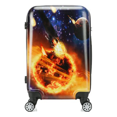 Carrylove Cartoon Luggage Series 18/20/24 Size Boarding Pc Super Hero  Rolling Luggage Spinner